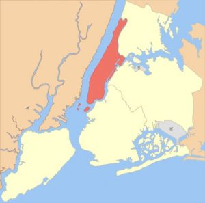 manhatan, boroughs of New York