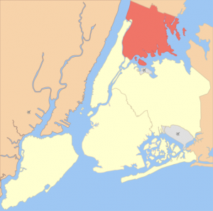Bronx, boroughs of New York