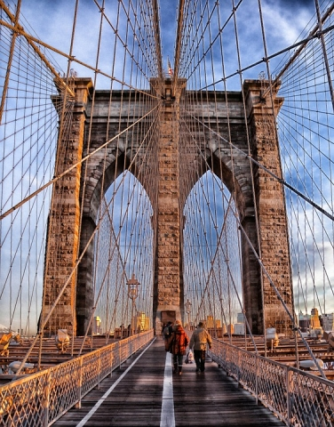 Secure a job before you move to Brooklyn