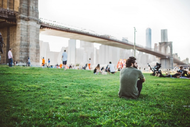 You'll want to move to Brooklyn at least for the parks