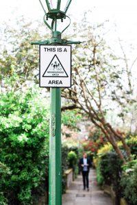 Image of the 'neighborhood watch' sign.