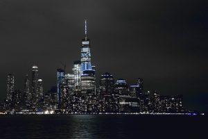 NYC night landscape