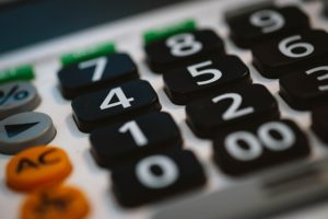 Calculator for calculating moving costs.