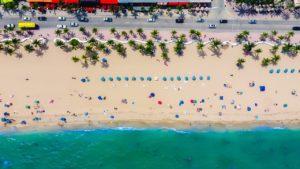 A Fort Lauderdale beach