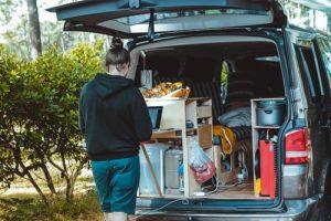 Things in a van