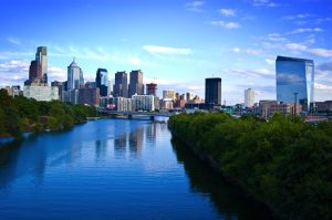 Moving from Brooklyn to Philadelphia will let you see this view of Philadelphia every day