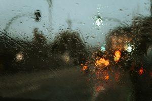 Rainy weather in NY