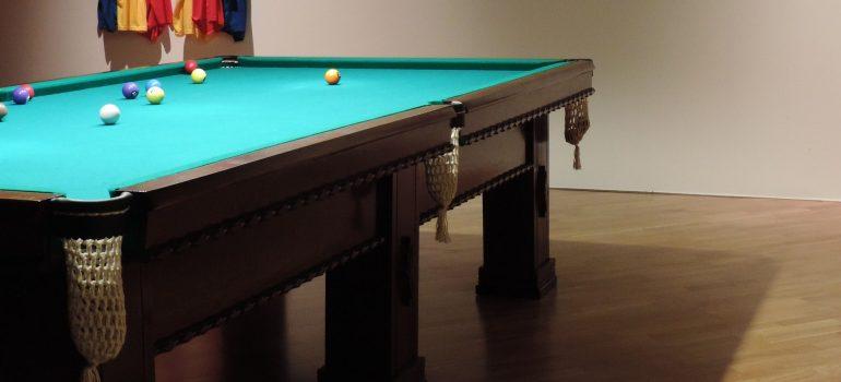 a huge pool table